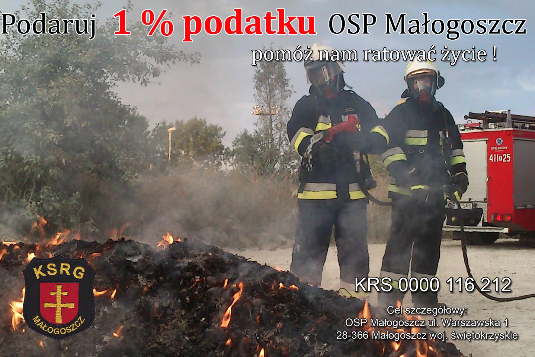 Twój 1% może uratować komuś życie!