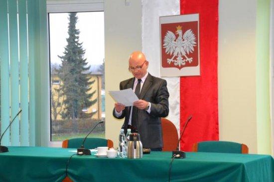 Pierwsza sesja Rady Miejskiej wMałogoszczu kadencji 2014 – 2018!