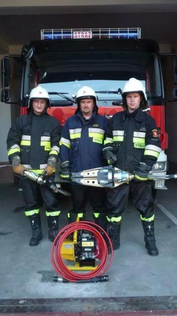 Nowy sprzęt ratowniczy małogoskich strażaków!