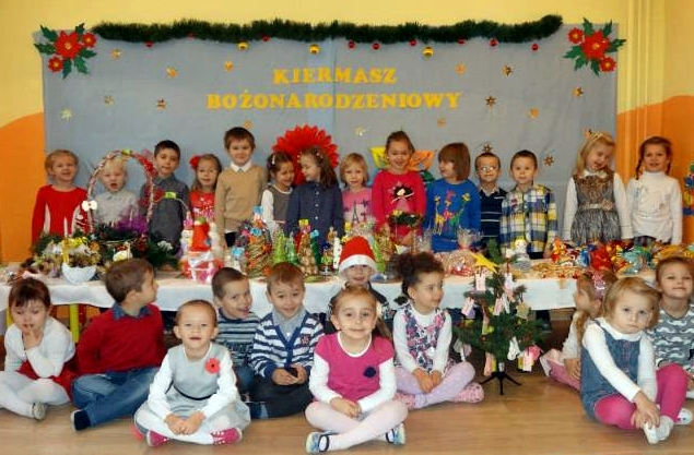˝Kiermasz świąteczny zMikołajem˝ wPrzedszkolu Publicznym wKozłowie!