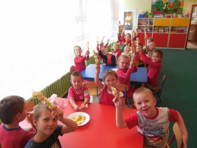 Czerwony dzień wmałogoskim przedszkolu !