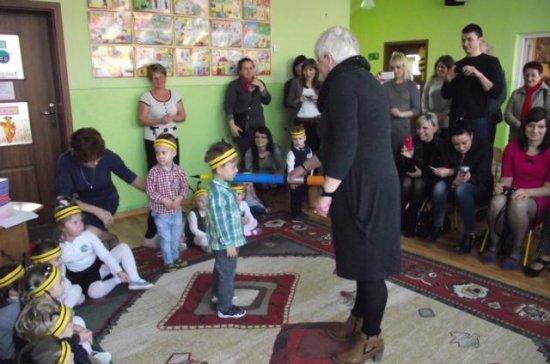 Pasowanie na przedszkolaka wPrzedszkolu Publicznym wMałogoszczu!