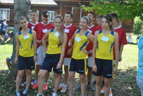 Małogoscy gimnazjaliści biegają wprzełajach!