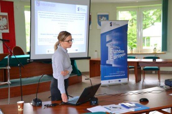 Nowa perspektywa finansowa UE - szkolenie dla jednostek Gminy Małogoszcz!